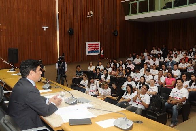 Deputado Wellington defende direito dos aprovados no concurso do TJ, em audiência!!!