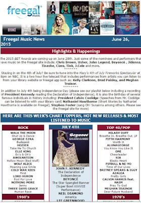 Freegal Music News