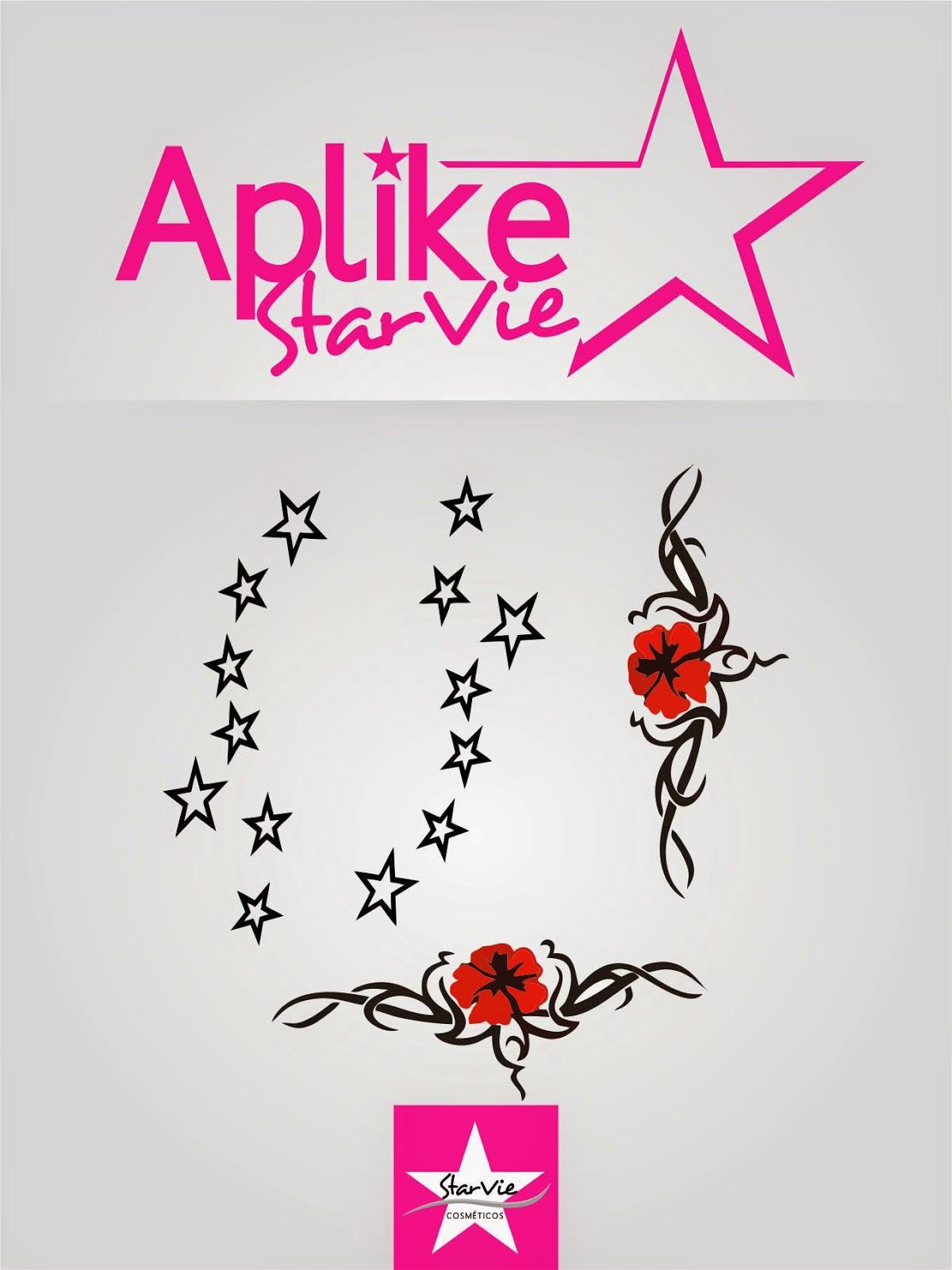 .Tatuagem para os Dedos StarVie