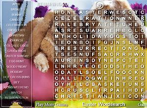 Sopa de letras Semana Santa