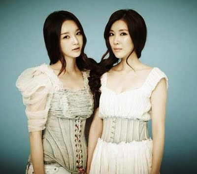 Davichi Min Kyung and Lee Haeri