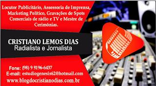 CRISTIANO DIAS/CONTRATE OS NOSSOS SERVIÇOS
