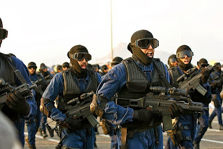 Saudi Special Forces in Parade