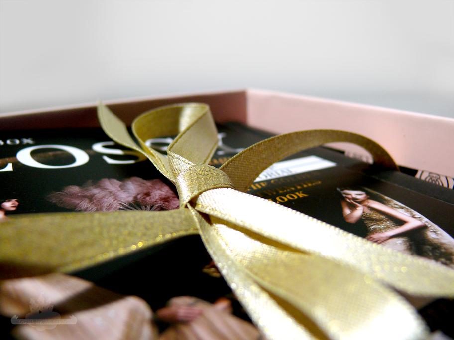 Glossybox Goldene 20er Edition November 2015 Österreich