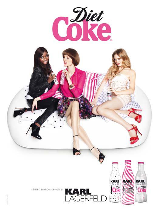 karl lagerfeld diet coke. Karl Lagerfeld Diet Coke by