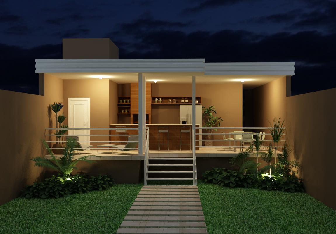 Vanessa Figueira : Projeto Residencial 06  Área de Lazer #A68A25 1150 800
