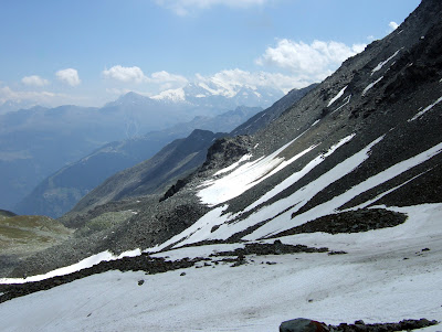 Saastal peaks from the Augstbordpass