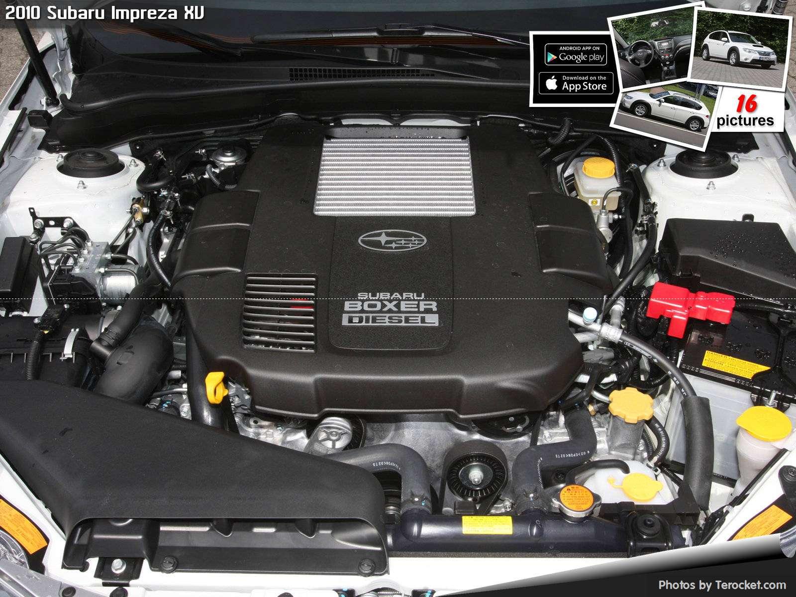 Hình ảnh xe ô tô Subaru Impreza XV 2010 & nội ngoại thất