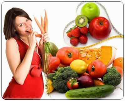 wanita hamil, makanan ibu hamil,
