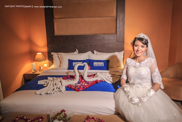 foto wedding dewi di hotel the groove yogyakarta