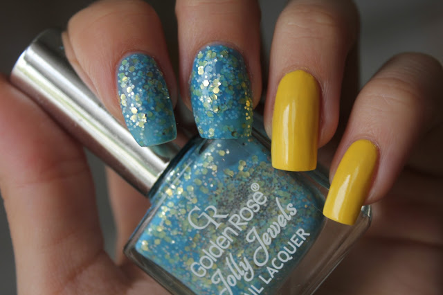 Golden Rose Jolly Jewels #111 & Essence Colour & Go #137 Wanna Be Your Sunshine