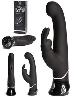 Fifty Shades of Grey Greedy Girl G-Spot Rechargeable Rabbit Vibrator