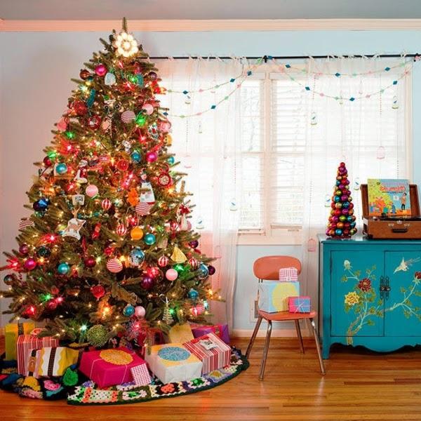 decoracion infantil arbol de navidad