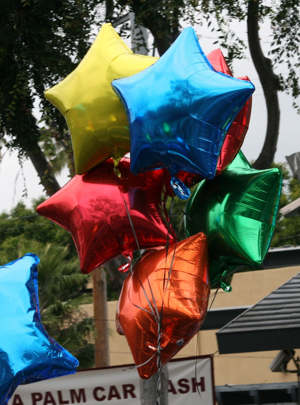 Pride Parade Balloons