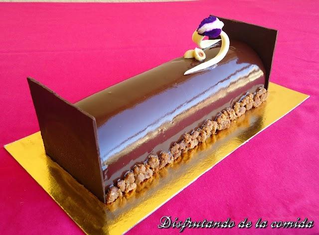 Tarta de Chocolate, Avellanas, Café, Frangelico y Speculoos