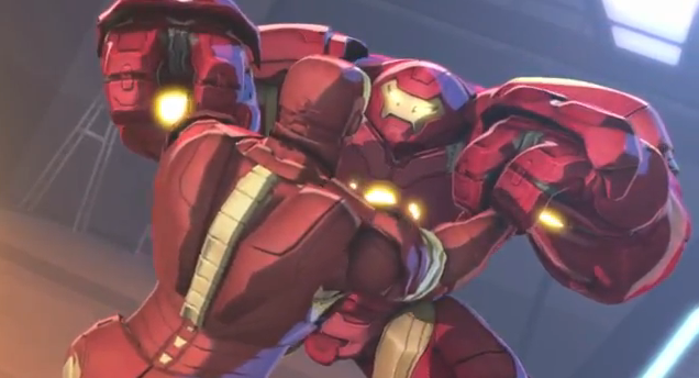 Iron Man and Hulk Heroes United 2013 Iron Man Against Hulkbuster Heavy Armor Suit