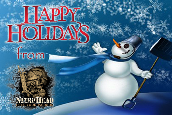 Nitro Head Racing and Nitro Head Apparel want to wish everyone a Safe and Happy Holiday Season!