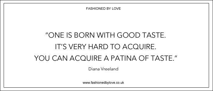 via fashioned by love | best fashion & style quotes | Diana Vreeland