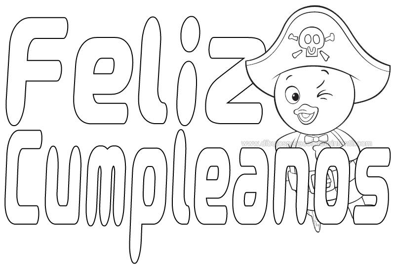Moldes de letras feliz cumpleaños para imprimir - Imagui