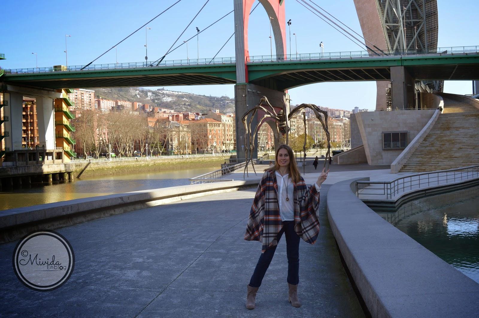 Outfit en el Guggenheim