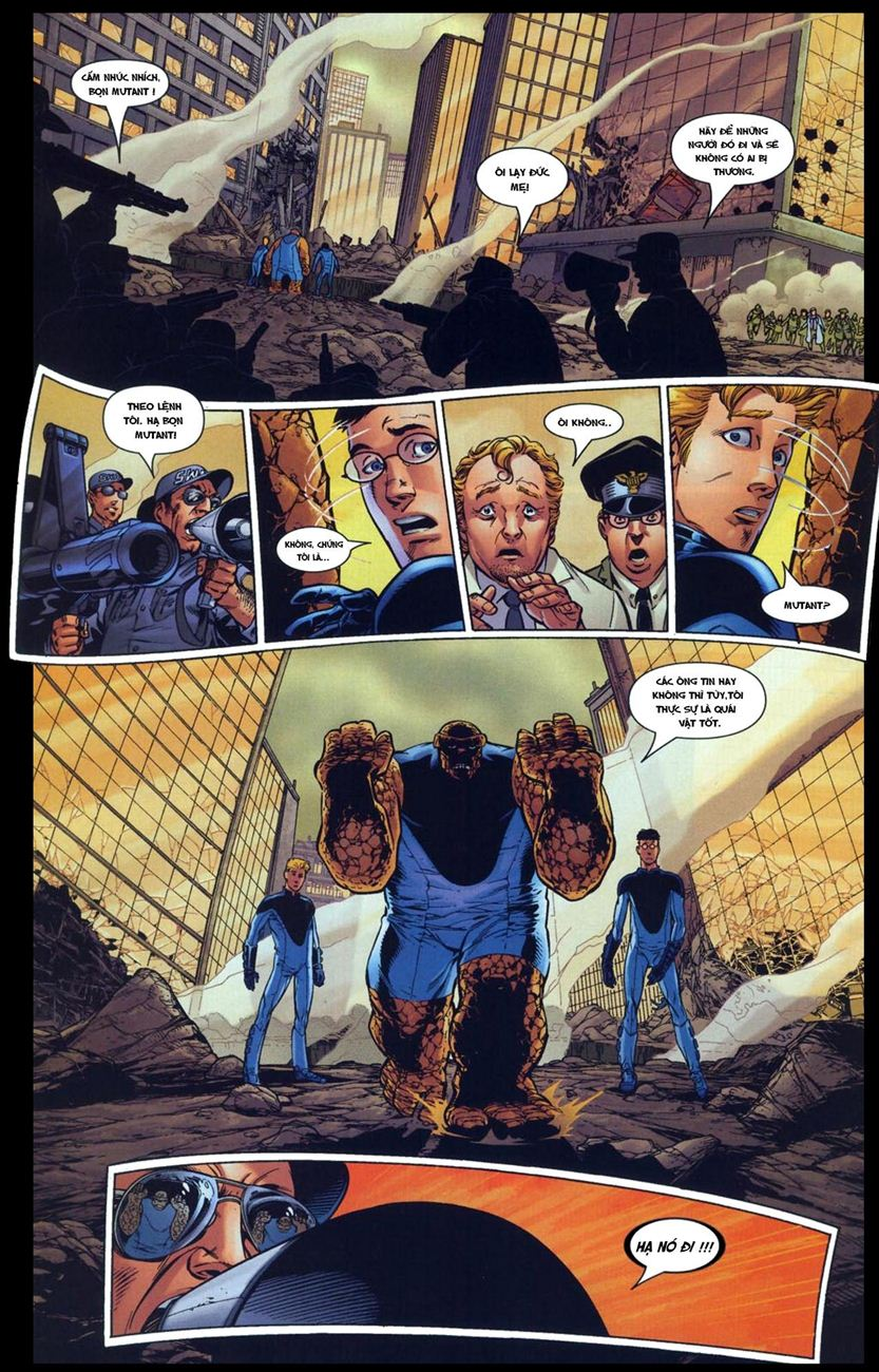 Ultimate Fantastic Four chap 5 - Trang 13