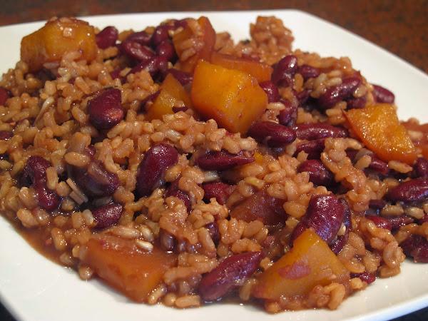 Arroz con alubias y nabos cocinar en casa es - Como cocinar alubias rojas ...