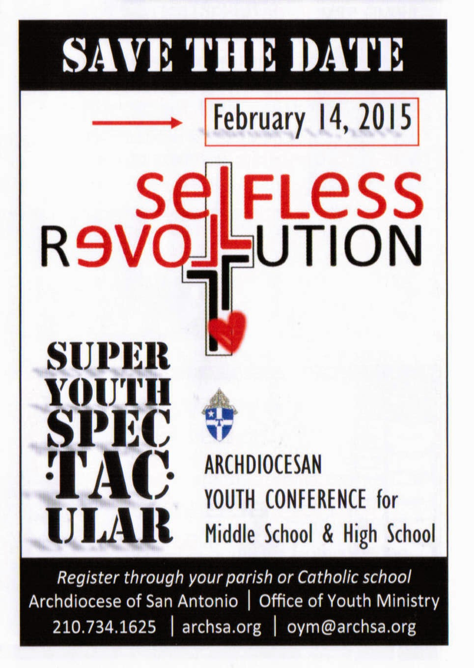 February 14, 2015: Super Youth Spectacular - Selfless Revolution