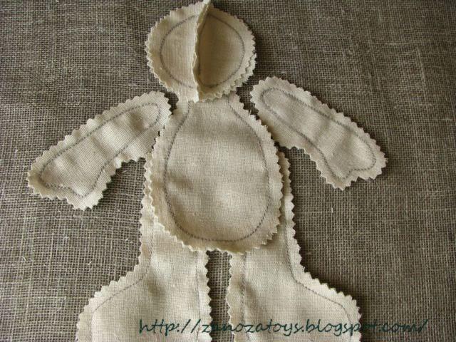 Мастер класс пошива куклы большеножки