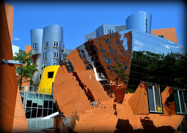 M.I.T., Stata Center, Artificial Intelligence Laboratories, Cambridge, Massachusetts