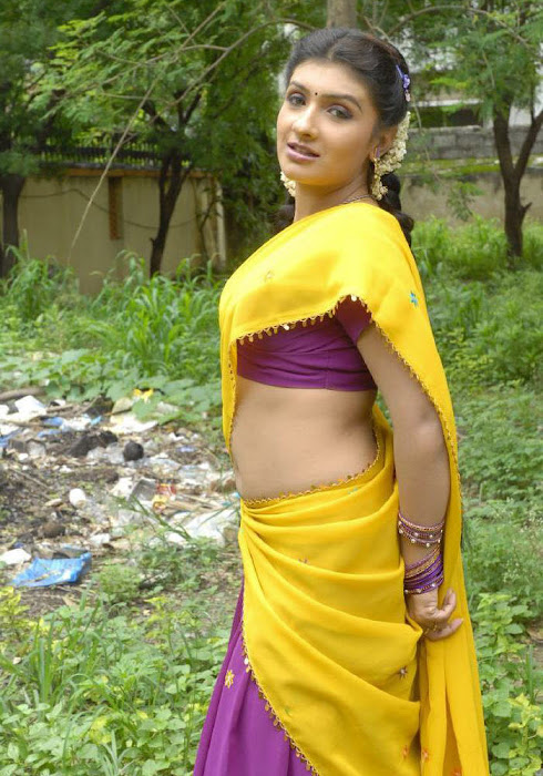 rupasri half saree cute stills