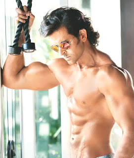 Hrithik Roshan body in Krrish 3