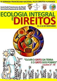 JUFRA DO BRASIL LANÇA 6ª JORNADA FRANCISCANA NACIONAL PELOS DIREITOS HUMANOS