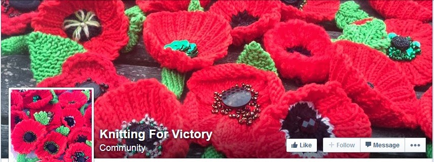 Knitted Poppy Pattern For British Legion : Exploring Military History: Knitting for Victory