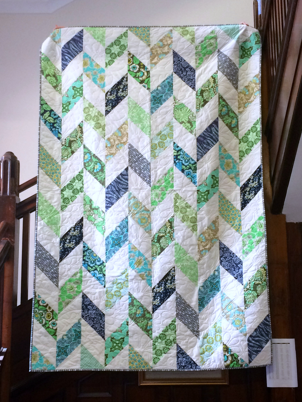 Artful Homemade Quilts Have A Way | Page 310 | US Message Board ... : parallelogram quilt pattern - Adamdwight.com