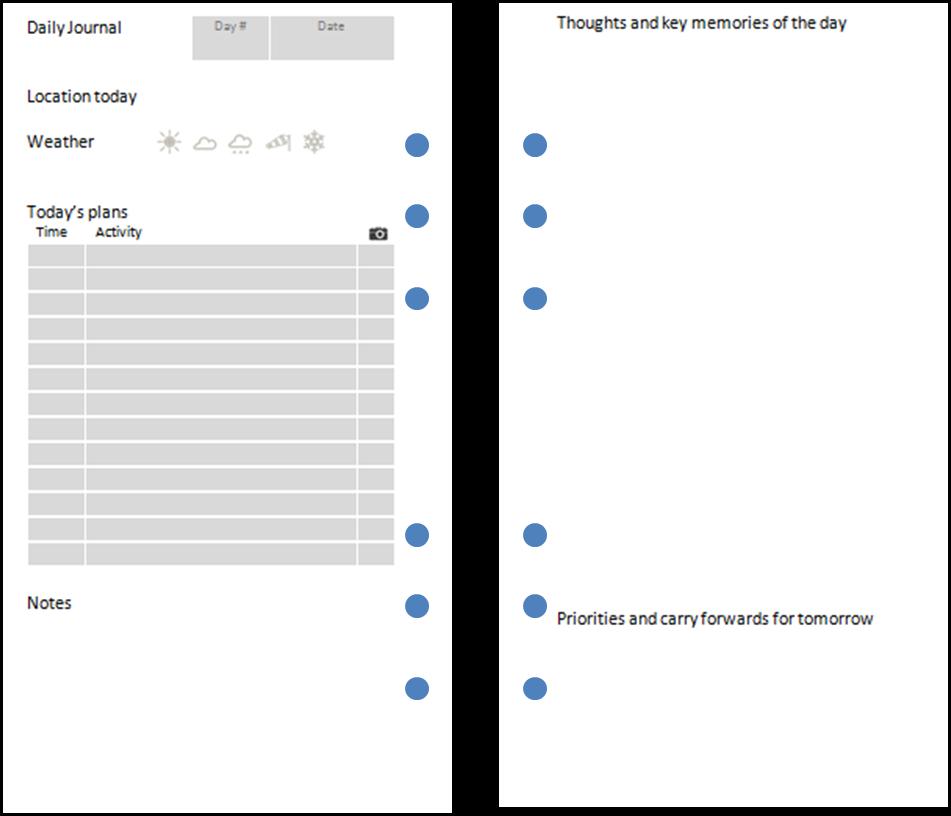 microsoft word journal template