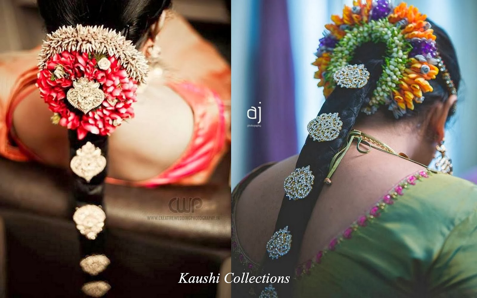 Sparkling Fashion South Indian Bridal Hair Accessories