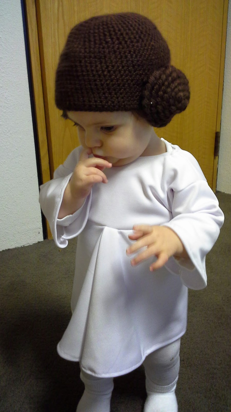 ... diy baby princess leia costume homemade ... & Princess Leia Costume Diy Child - Home Design