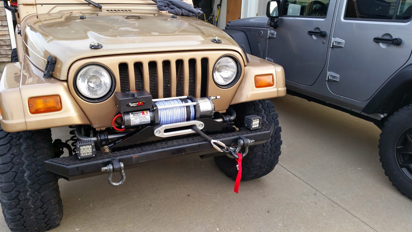 You Are Not Yet Ready To Use Your Winch Yet. You Need To Unspool It And  Spool It In Under Load Before You Use It. But....youu0027ll Have To Wait For  PART 3 ...
