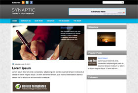Synaptic Blogger Template