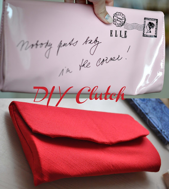 DIY clutch Elle clutch