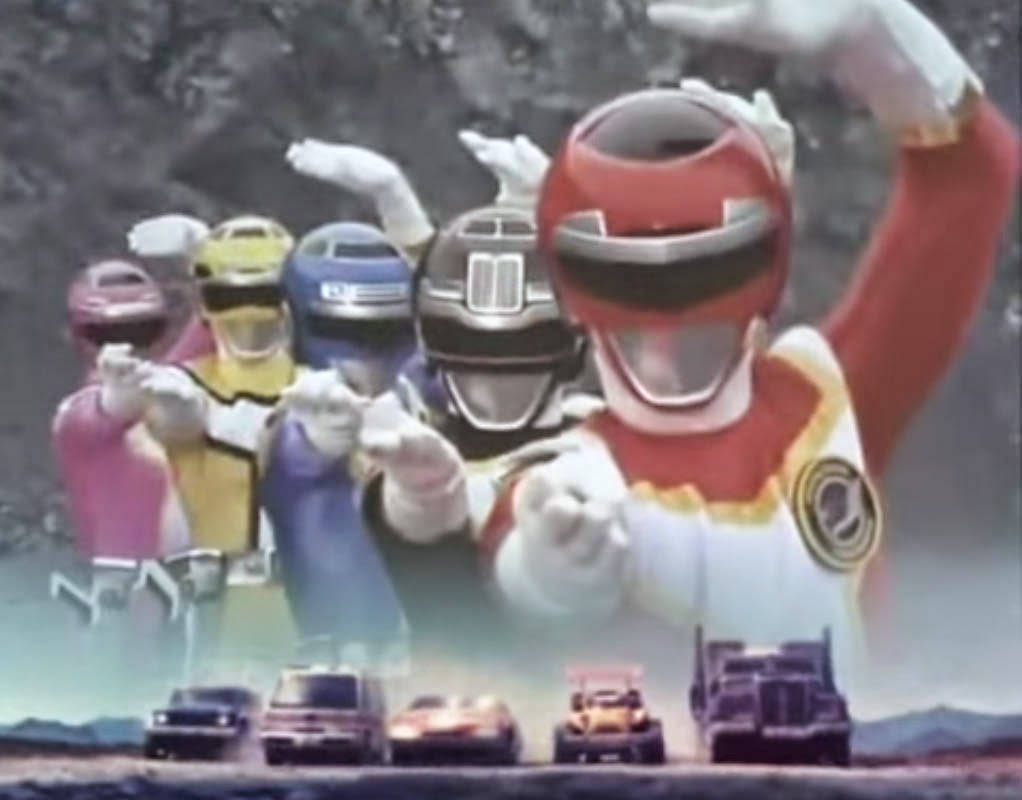 Kousoku Sentai Turboranger Filipino Dubbed Super Sentai Show 90's Run in the Philippines Retro Pilipinas Feature