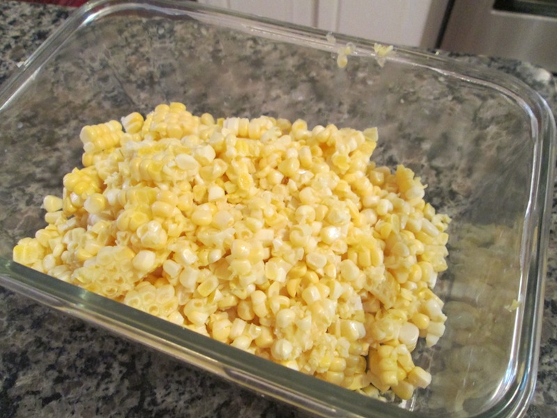 how to cut kernels off fresh corn