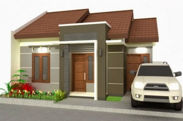 model rumah minimalis Type 54 4