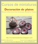 cursos decoración de platos en miniatura