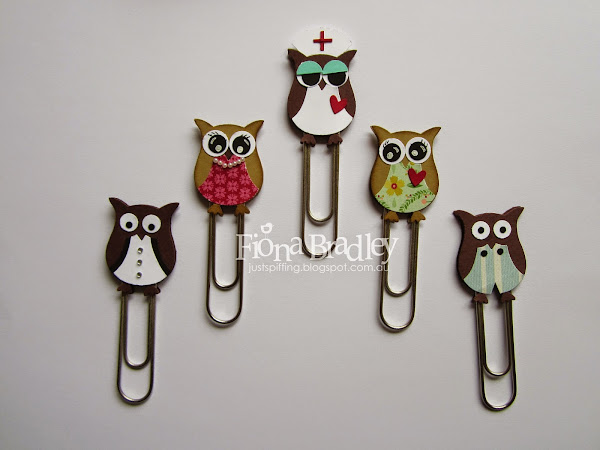 Owl Punch Bookmarks