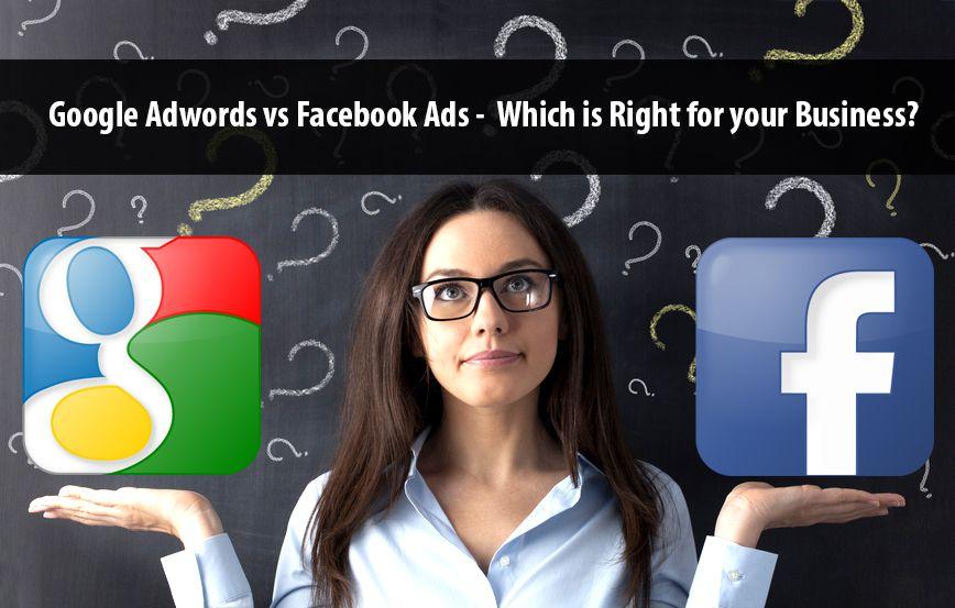 Facebook廣告與Google Adwords關鍵字廣告的優缺點