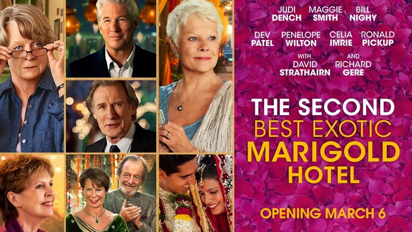 the second best exotic marigold hotel 2 watch online