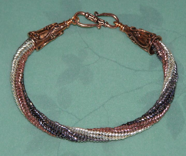 queenie s twisted herringbone bracelet