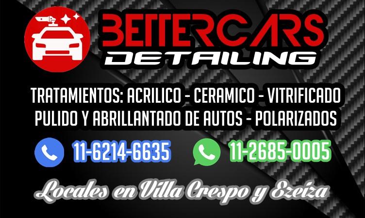 BETTERCARS - Tel 15-6214-6635 - Servicios de Detailing para autos