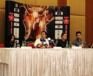 Akshay Kumar, Sonakshi Sinha, Imran Khan at Oberoi Hotel in Dubai
